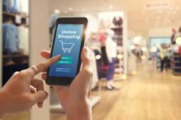 compra en línea con celular
